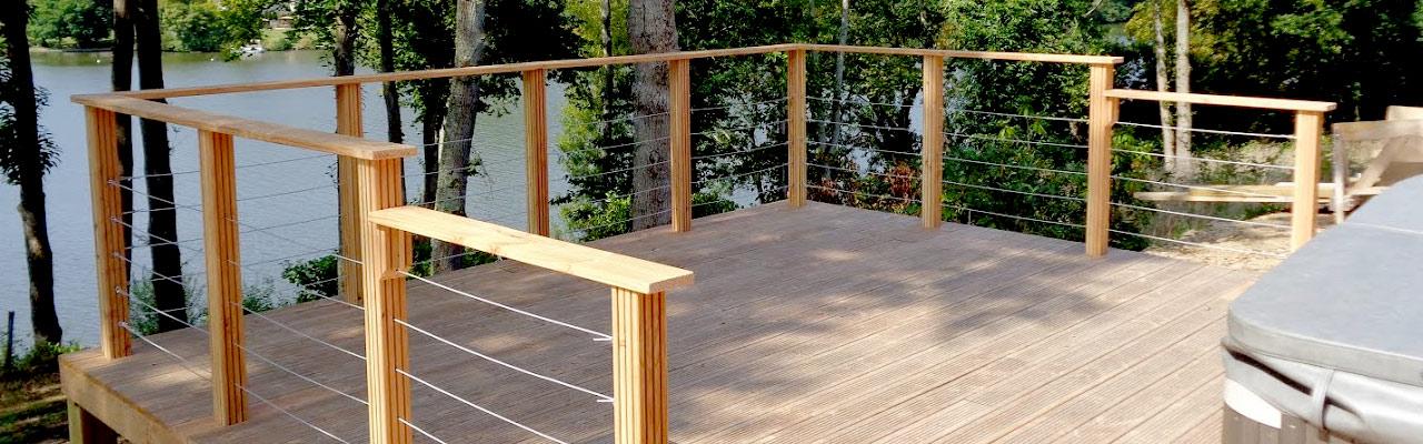terrasse en bois Réalisation de votre terrasse en bois sur Nantes et