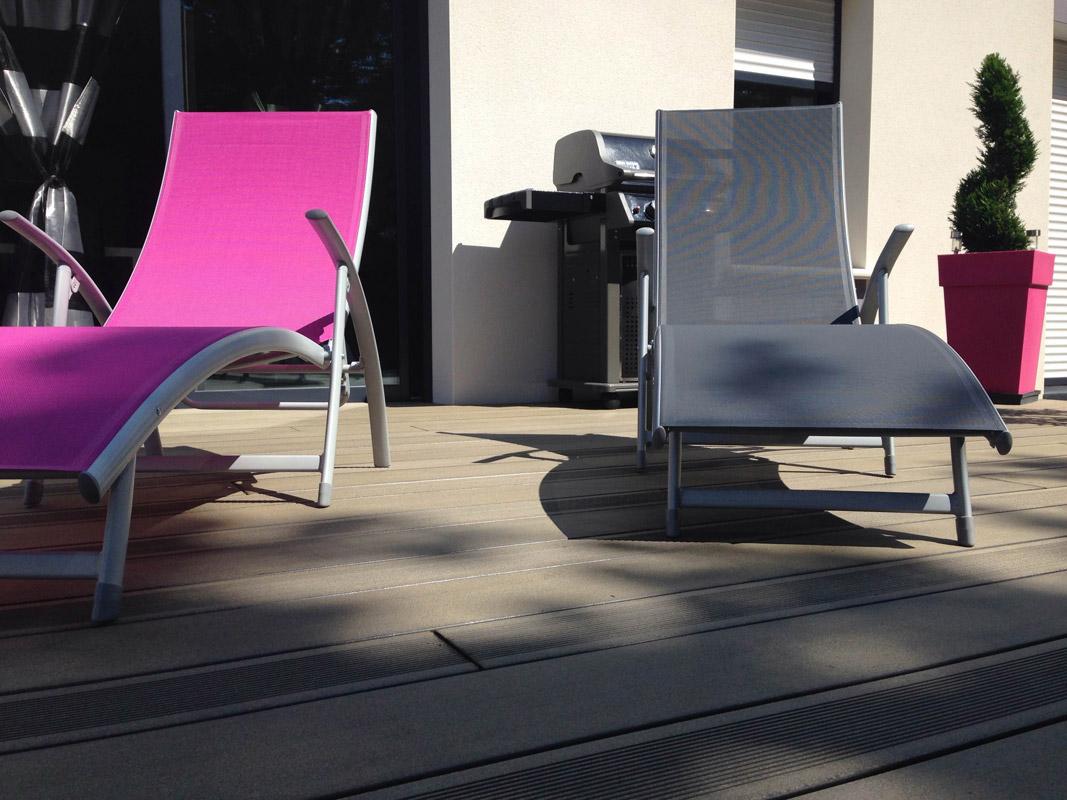 Terrasse Compositeà Geneston Nantes 44 Construction bois BCB spécialiste en charpente et  # Terrasse En Bois Composite