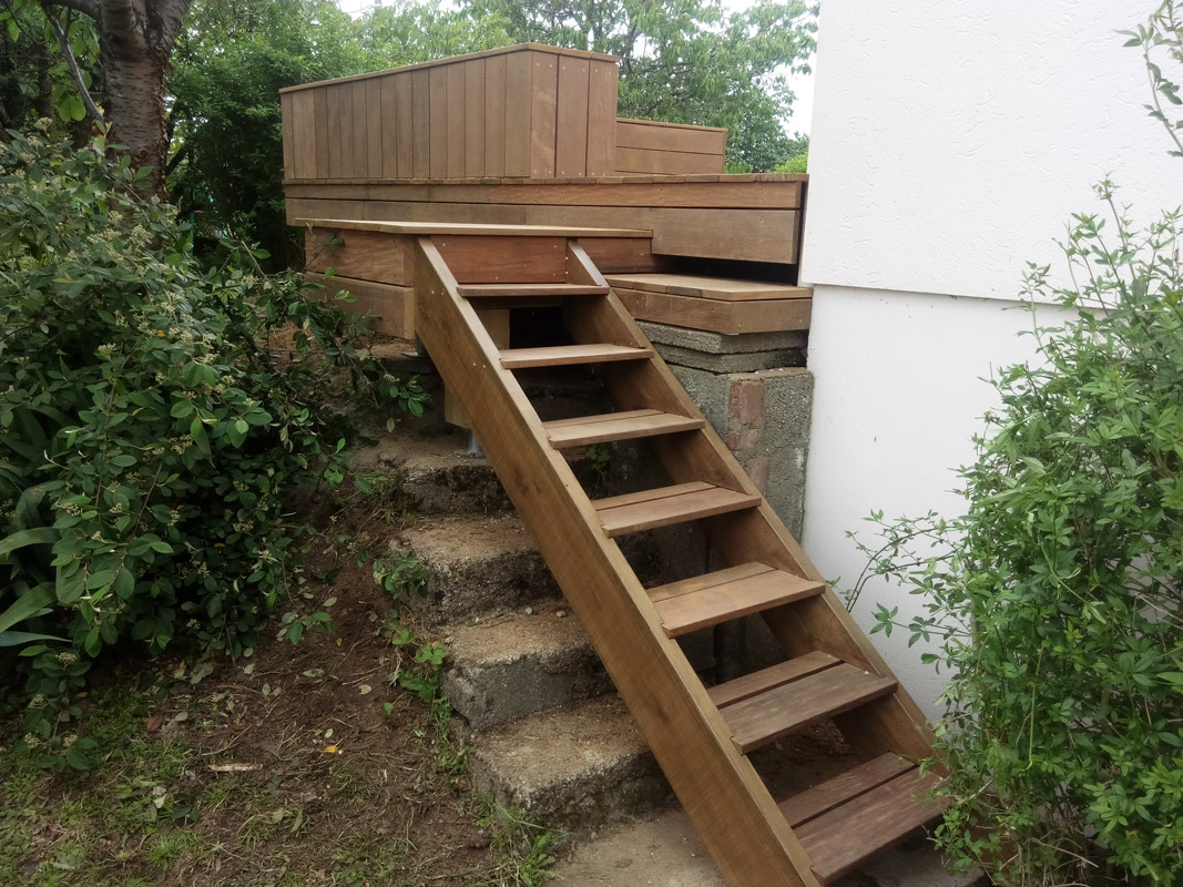 Nos r alisations construction bois bcb sp cialiste en for Terrasse en ipe prix