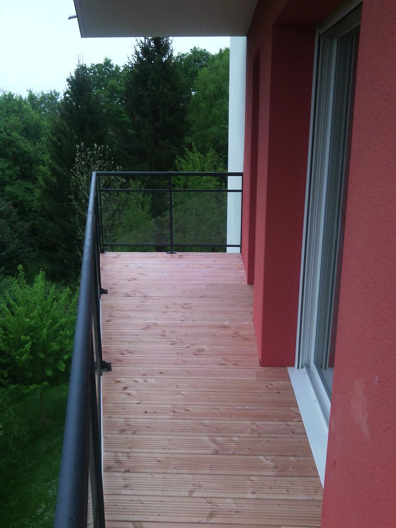 terrasses bois douglas nantes 44 construction bois bcb sp cialiste en charpente et. Black Bedroom Furniture Sets. Home Design Ideas