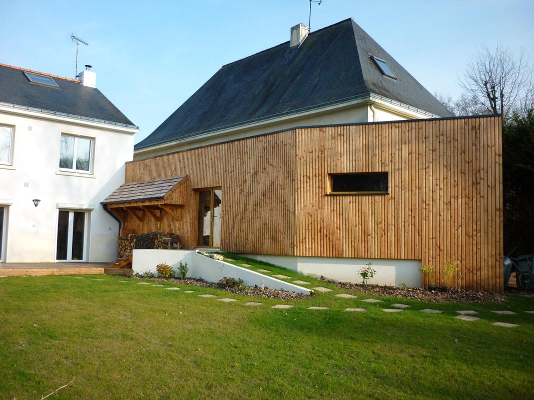 Maison bois moderne pas cher for Maison contemporaine pas cher